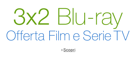 3x2 Blu-ray centinaia di Film e Serie TV