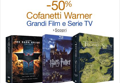 50 cofanetti Warner