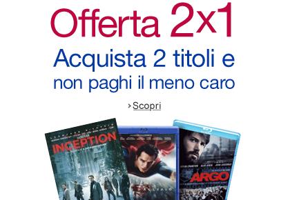 Offerta Warner 2x1
