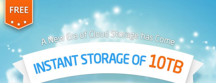 10TB Gratis Cloud