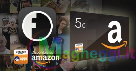5€ da utilizzare nell'App-Shop scaricando l'App Fanpage.it