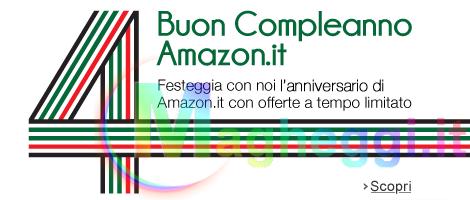 4° Anniversario di Amazon