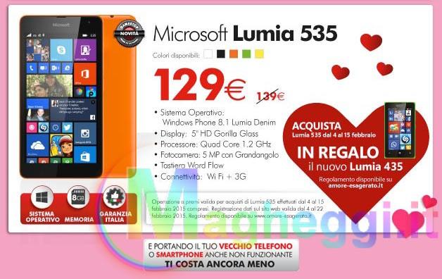 Microsoft Lumia GameStop San Valentino