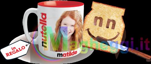 Tazza Personalizzata della Nutella Gratis
